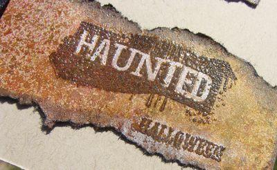 Raven card - haunted cu